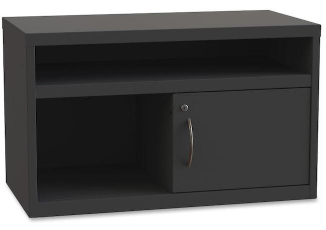 Lorell LLR60938 36-inch Credenza with Sliding Door