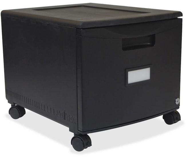 Storex 61259B01C 18-inch Single Drawer