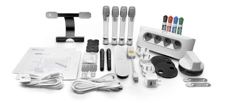 EBeam Edge Plus Wireless Interactive Whiteboard System Bundle