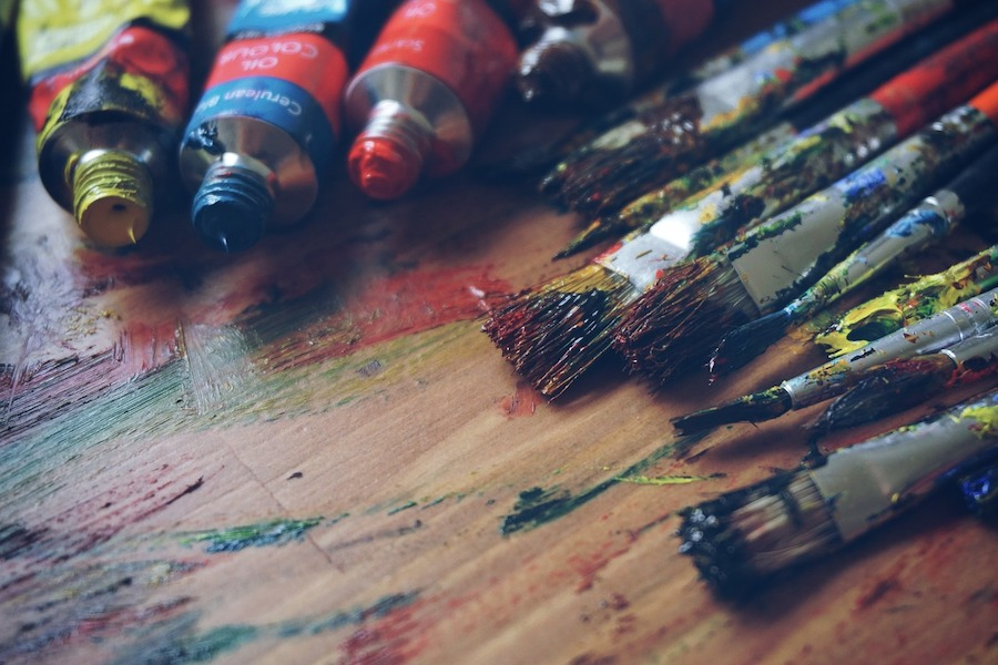 oil painting materials