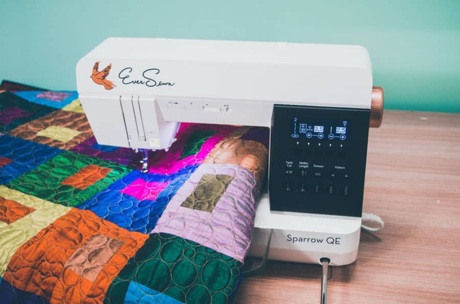 Eversewn Sparrow QE - Quilter's Edition Sewing and Quilting Machine 2