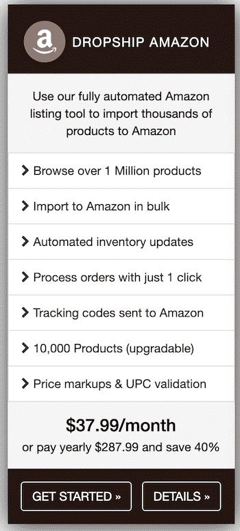 Dropship on Amazon