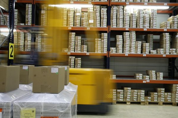 stock in warehouse