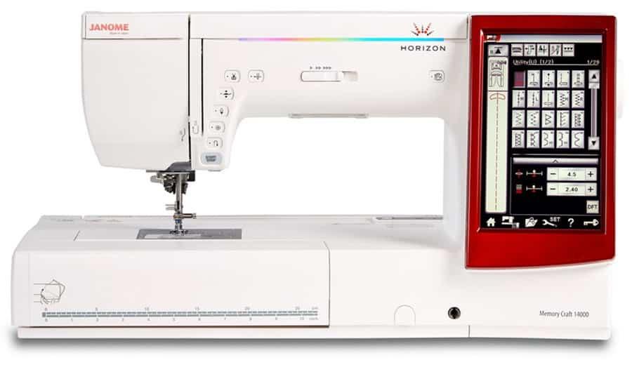 Janome Horizon MC14000 5