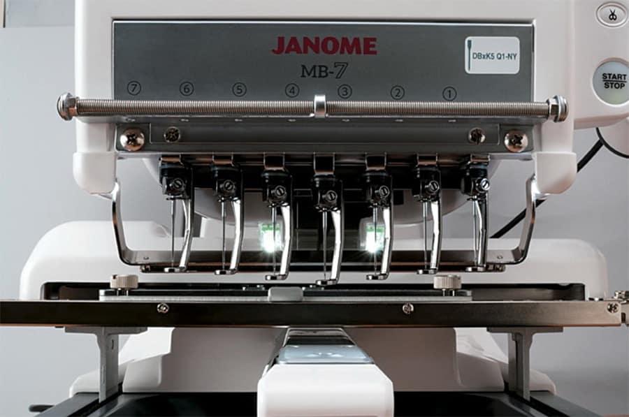 Janome MB-7 Seven-Needle Embroidery Machine
