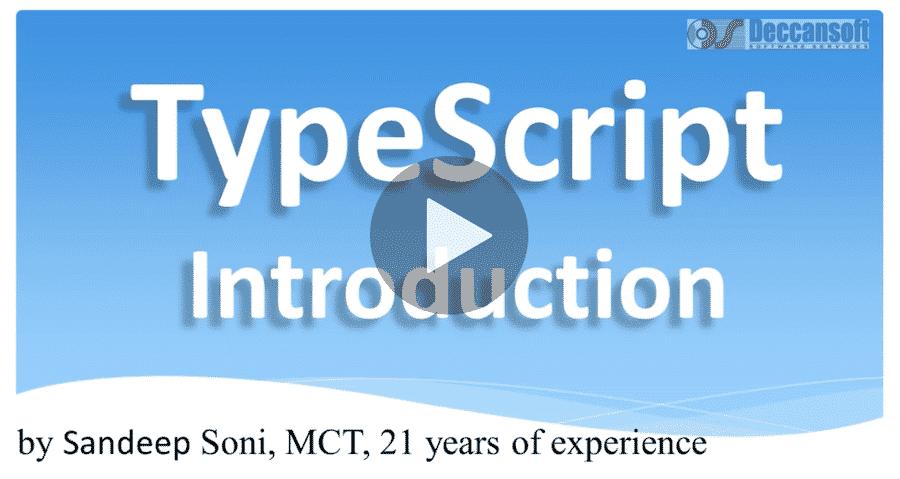 Angular 7 and TypeScript