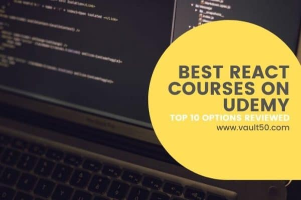 Best react course on udemy