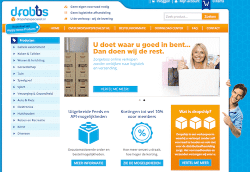 Home-page-Dropshipspecialist-nl