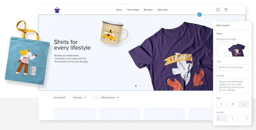 sellfy webstore